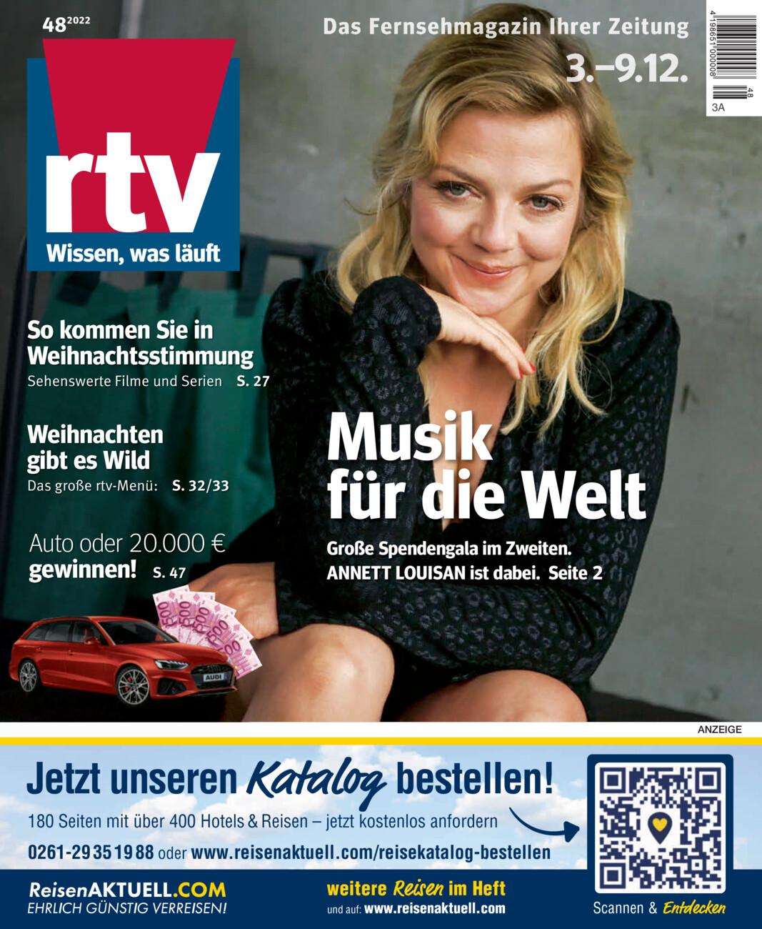 RTV Magazin vom Samstag, 28.11.2020